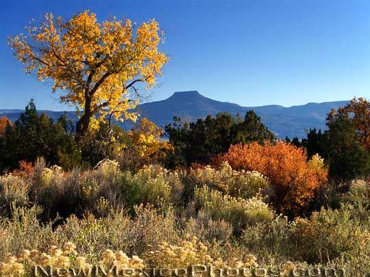 Cerro Pedernal, New Mexico.