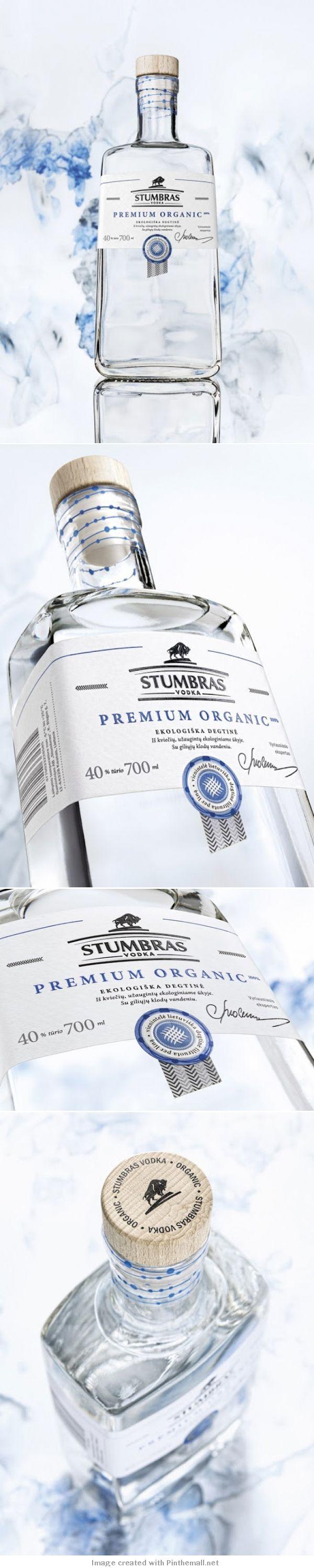 Stumbras Vodka Premium Organic Art direction, design: Edvardas Kavarskas Product development department manager: Jūratė Paulauskienė Product development manager: Artūras Kazlauskas Copywriter: Daiva Grikinienė Photographer: Edgaras Marozas Aquarelle PD