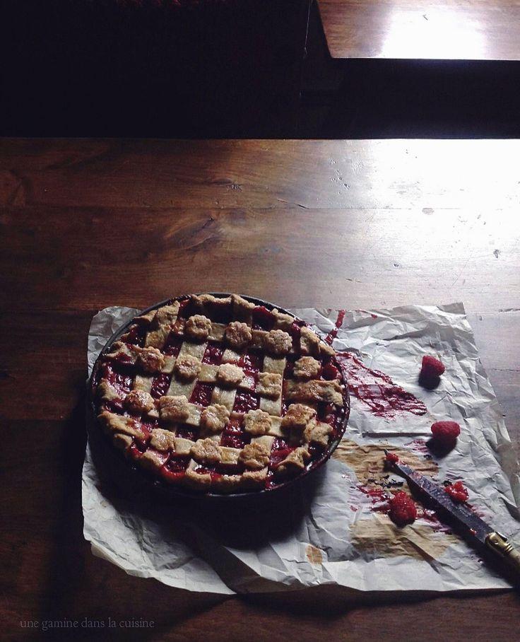 Prospero's raspberry + ale pie