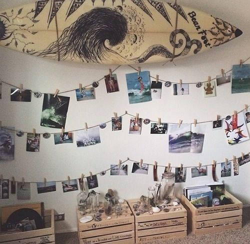 Best 25 surfer bedroom ideas on pinterest beach room for Indie wall art ideas