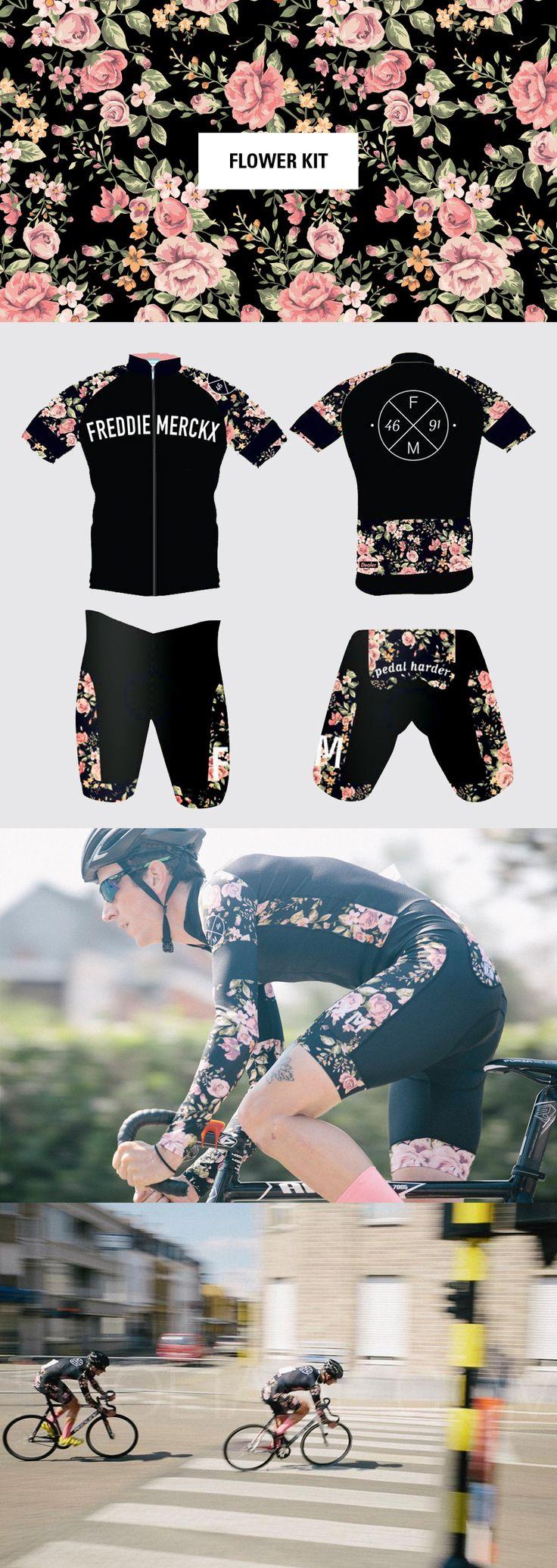 Freddie Merckx – Flower Kit https://www.facebook.com/fxmpedalharder