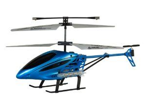 """Viefly V21 Remote Control Helicopter with Gyro (Color May Vary) by EDeVillas. $25.99. 3 Channels. Mid size two colors (Blue and Red). Flight time 5-9 mins. Speed Switch, Light Switch, Canopy-To-Tail Chromatic Coloring, Gyro, LED Lights. Infrared control. Fulfilled by AMAZON which has reliable shipping delivery schedule to meet your holiday need. Video available for preview at youtube by searching keyword """"Viefly V21"""". More than just an """"upgrade"""" on the V11 of las..."""
