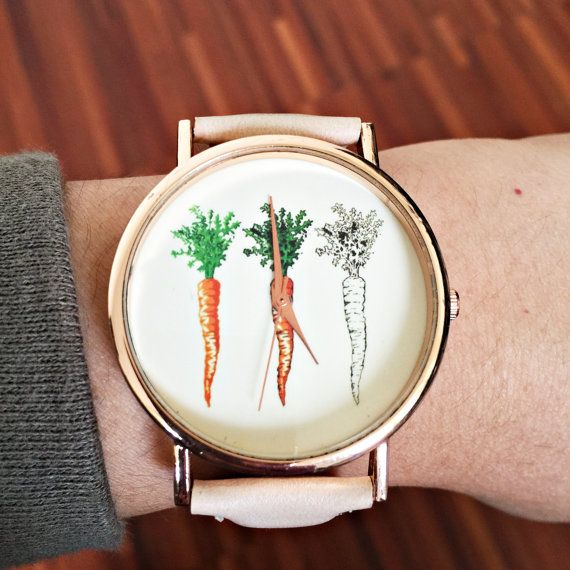 Carrot Watch Women Watches Watches for Women Vegan by FreeForme