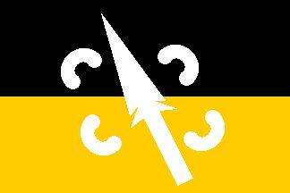 [1972 Aboriginal flag variant]
