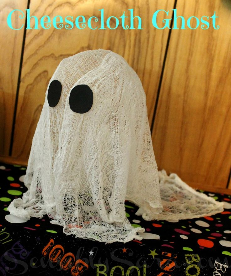 17 Best Ideas About Cheesecloth Ghost On Pinterest