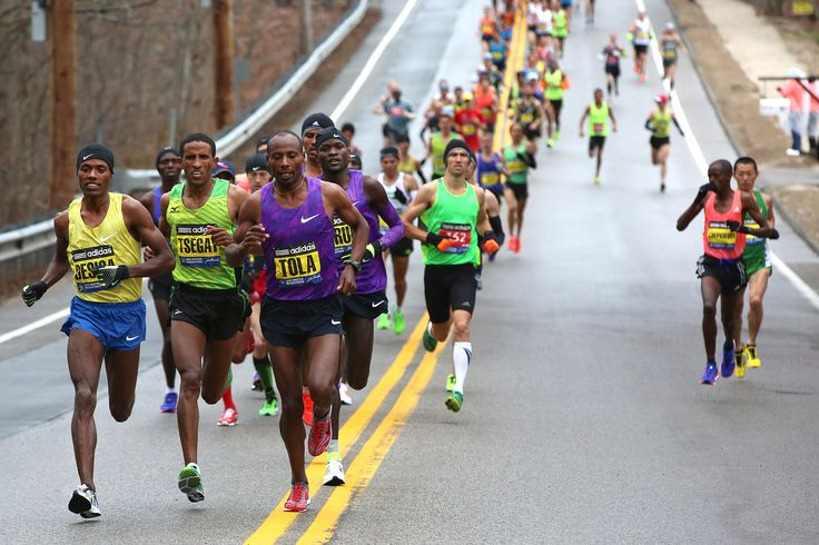 The granddaddy of marathon running events, the Boston Marathon has drawn Olympic hopefuls and runners from around the world since its beginning in 1897. The course is ineligible for international record setting, so why do countless athletes compete for a chance to run Boston's punishing hills?