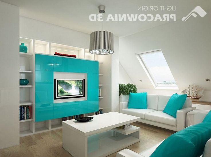 20 Gorgeous Turquoise Room Decorations And Designs Part 90