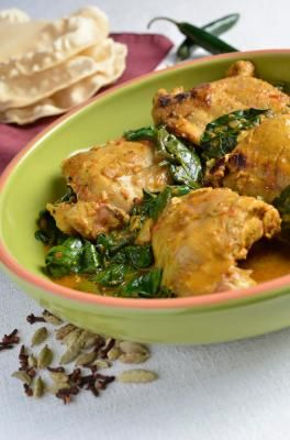 Slow Cooker Curried Turkey Thighs