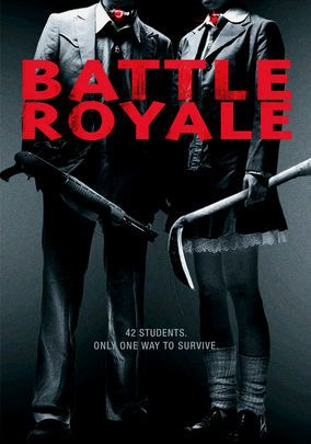 """definitely on my list of good films. I gave this one five stars. Although, I felt disturbed while watching """"Battle Royale."""""""