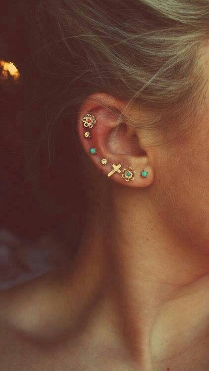 Piercing cartilage ♡
