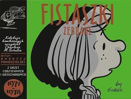 """Charles M. Schulz, """"Fistaszki zebrane 1977-1978"""", przeł. Michał Rusinek, Nasza Księgarnia, Warszawa 2016. 325 stron"""