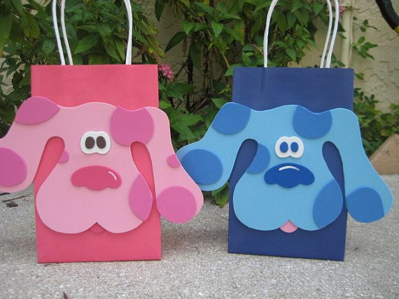 Blues Clues Blue Dog Inspired Birthday Party by christinescritters