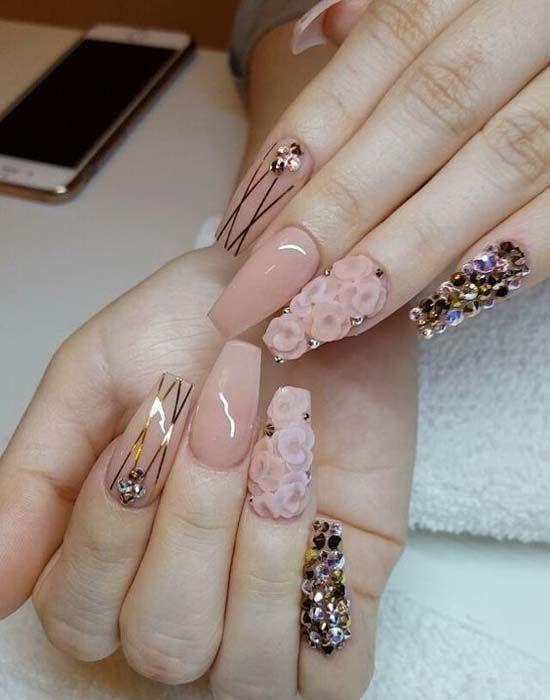 Stunning Nail Art Designs 2018 En 2019 Uñitas Pinterest Uña