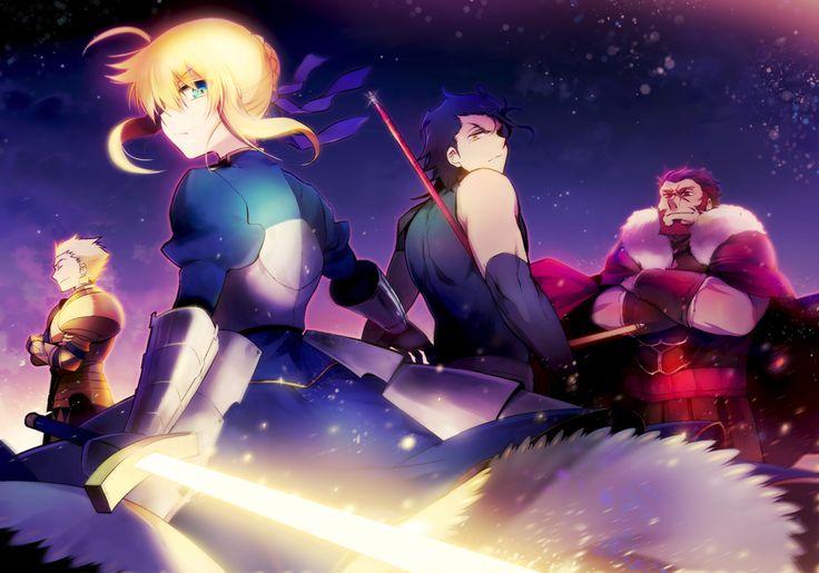 Tags: Fanart, Saber (Fate/stay night), TYPE-MOON, Pixiv, Gilgamesh, Fate/zero, Rider (Fate/zero), Lancer (Fate/zero), Pixiv Id 113705