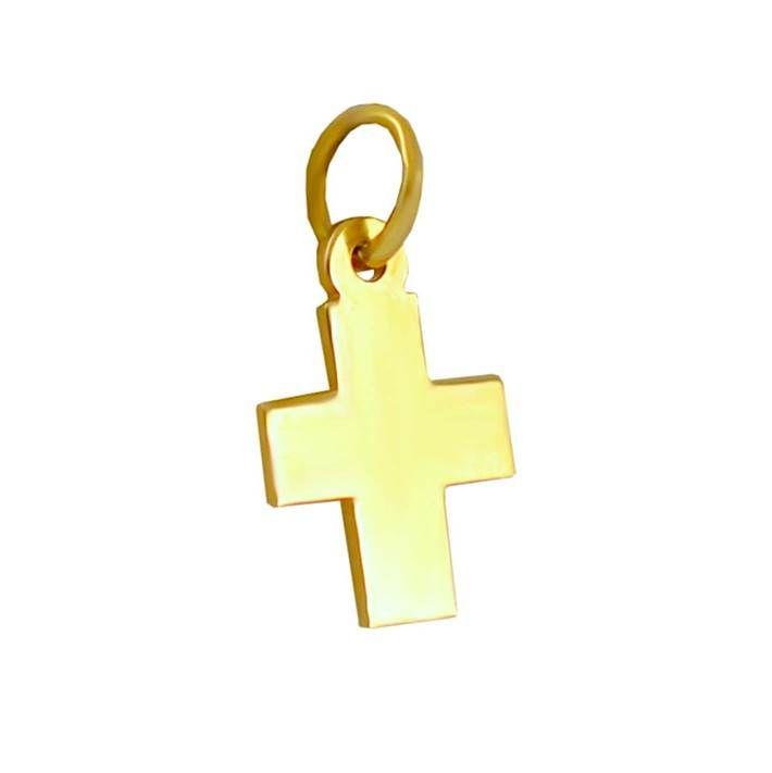 ΣΤ507P -Χρυσός σταυρός