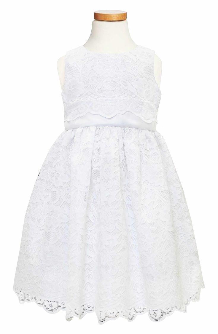 Main Image - C.I. Castro & Co. Scallop Lace Dress (Big Girls)