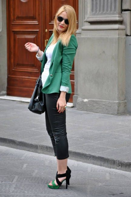 Italian Street Fashion - Summer 2011 Milan Italy Street Fashion - ELLE... - Street Fashion