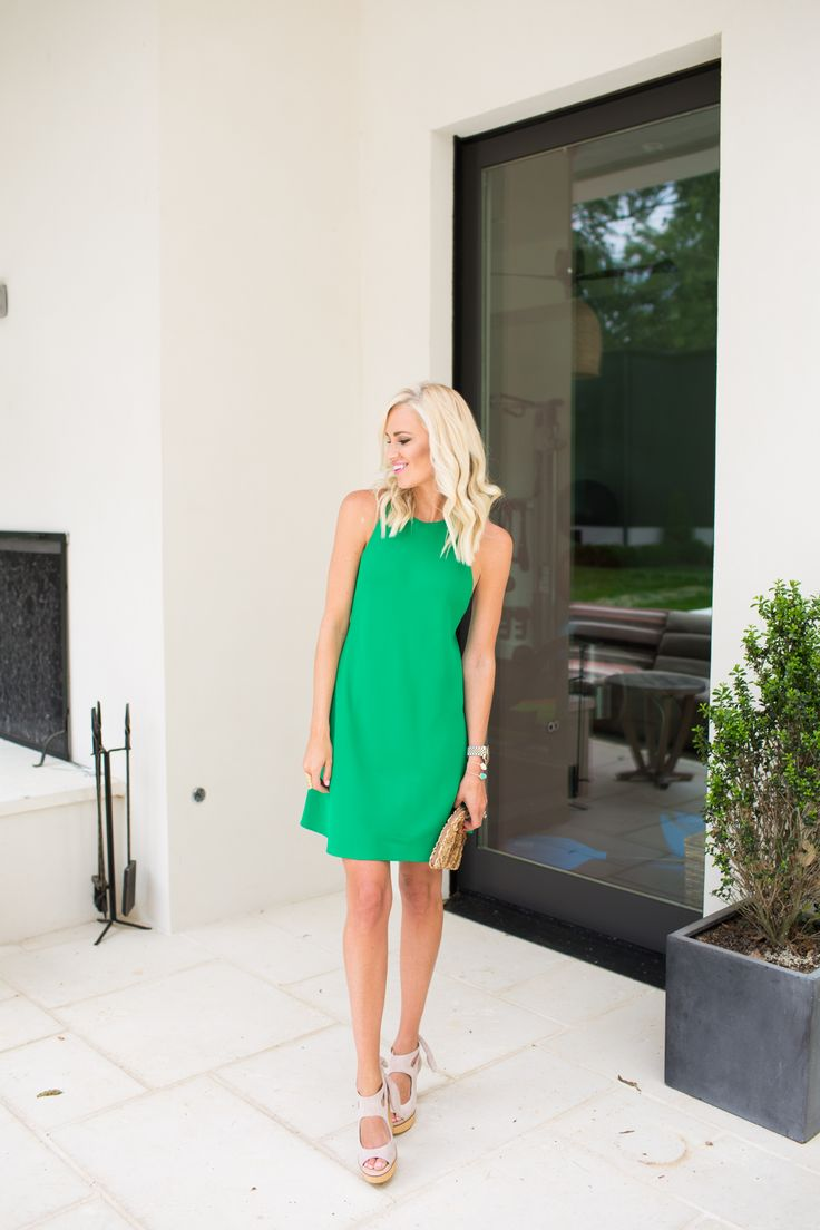 Kelly Green Sundress - Mckenna Bleu
