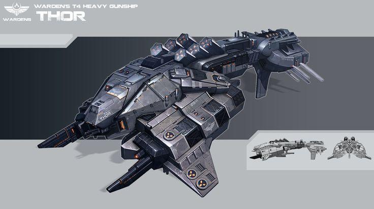 Thor- empire frigate. by KypcaHT.deviantart.com on @deviantART
