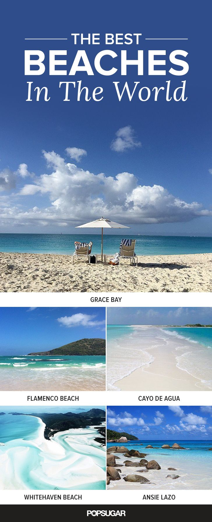25 Breathtaking Beaches You Must Visit Before You Die | Pinterest | Vacation, Beach and Crystals
