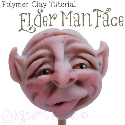 Polymer Clay Tutorial How to Sculpt an Old Man Face I have been getting many requests for me to share with you the techniques and steps I use to sculpt my faces. Right now I am fascinated with old man faces. This walk through will show you how to sculpt an old man face in polymer clay. In