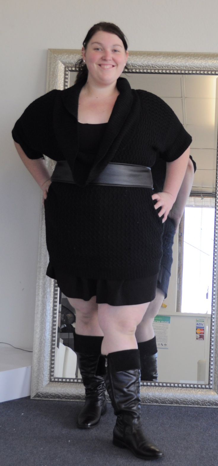 Little Black Dress and My Not so Little Black Boots