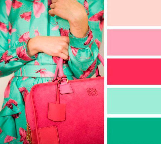M s de 25 ideas incre bles sobre combinaciones de colores - Colores que combinan con rosa ...