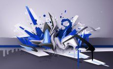 3d Graffiti Art Wallpaper Hd Resolution For Desktop Wallpaper 1680 x 1050 px 530.05 KB walls love characters how to draw 3d music spray can on paper music