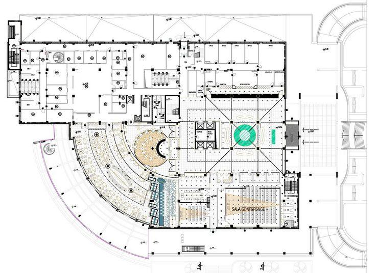 Mirage Hotel by Studio Marco Piva Hotel floor plan