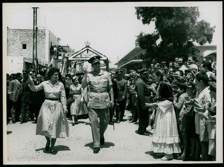 GREECE ROYALTY CRETE IERAPETRA KING VISIT VINTAGE PHOTO (ΠΡΟΙΚΟΔΟΤΗΣΕΙΣ). www.ebay.com