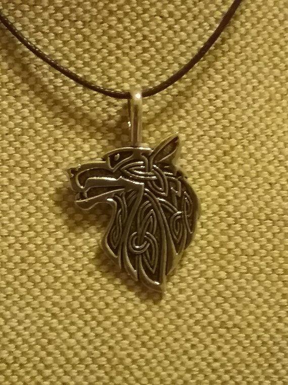 Lone wolf pendant