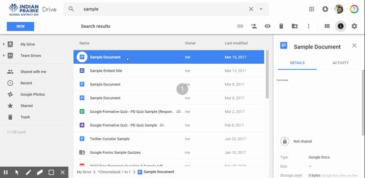how to move file to different folder in google drive