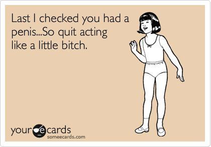 Boys! hahah truth!
