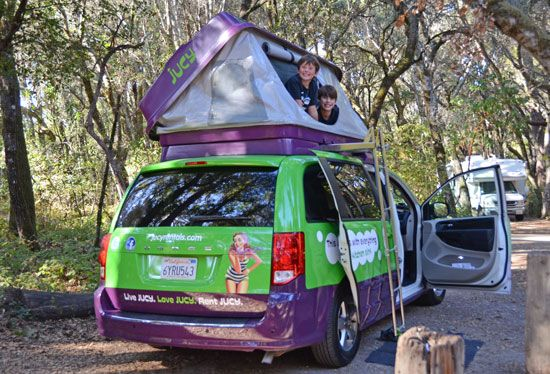 Jucy Champ Camper Mini Van Rentals Travel And