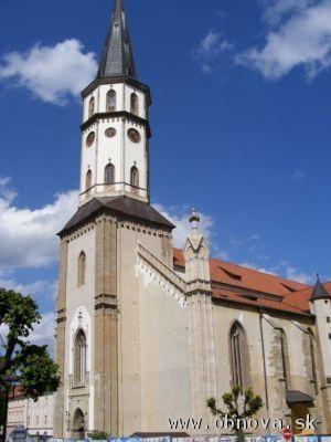 Na ďalšiu rekonštrukciu Baziliky sv. Jakuba v Levoči ide viac ako milión eur