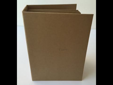 Mini Album Tutorial from start to finish! The concept of making a mini a...
