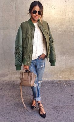 Buy woman bomber jackets Asos Boohoo, Rihanna, Olivia Palermo street-stryle inspired looks, free daily personalized style fashion advice