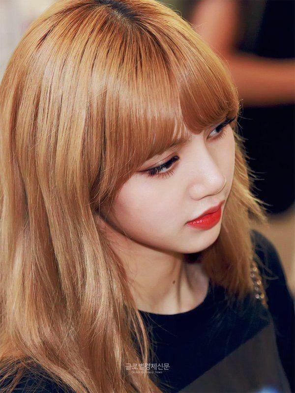 Lisa Honey Blonde Hair Lisa Hair Blackpink
