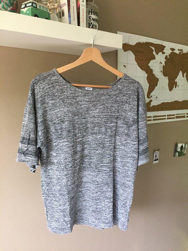T-shirt ample gris | Pimkie de marque Pimkie. Taille 36 / 8 / S à 5.00 € : http://www.vinted.fr/mode-femmes/tee-shirts/59396741-t-shirt-ample-gris-pimkie.