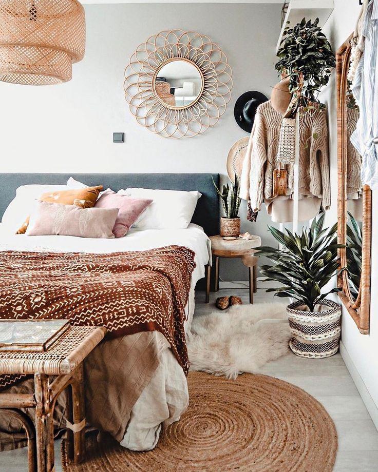 Böhmische Schlafzimmer und Dekor Ideen