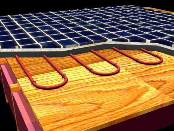 The Heated Tile Floor Project Preparation: Under Tile Floor Electric Heating ~ lanewstalk.com Floor Ideas Inspiration