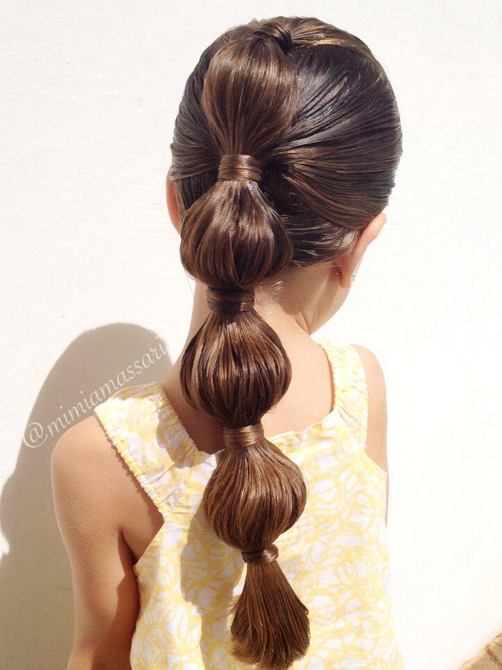 簡単可愛い女の子のヘアスタイル 子供 Shilason ヘア