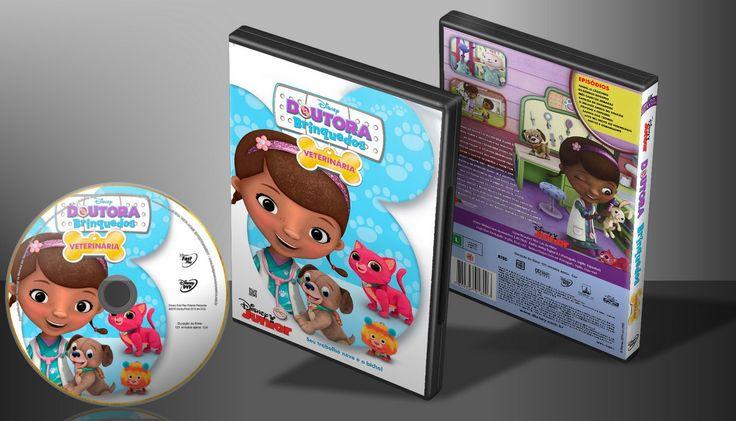 Doutora Brinquedos - Veterinária - Capa | VITRINE - Galeria De Capas - Designer Covers Custom | Capas & Labels Customizados