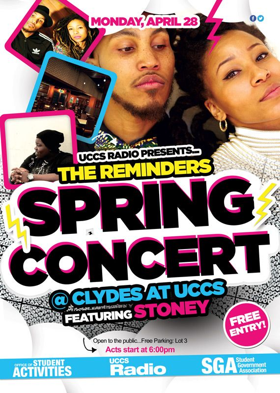 "The Reminders won this years Colorado Springs Indy ""Best Hip-Hop Duo"" and Stoney won for ""Best Hip-Hop Solo"" is it fair to say this was the best local hip-hop show in #ColoradoSprings in 2014????   #HipHop #TheReminders #StoneyBertz #Concert #LiveMusic #UCCS #College  Tune in to UCCS Radio online at: radio.uccs.edu  Listen to UCCS Radio on your Android Phone: https://play.google.com/store/apps/details?id=com.uccs.uccsradio&hl=en"