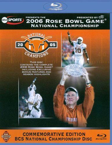 2006 Rose Bowl Game: National Championship - Texas vs. USC [Blu-ray] [2006]