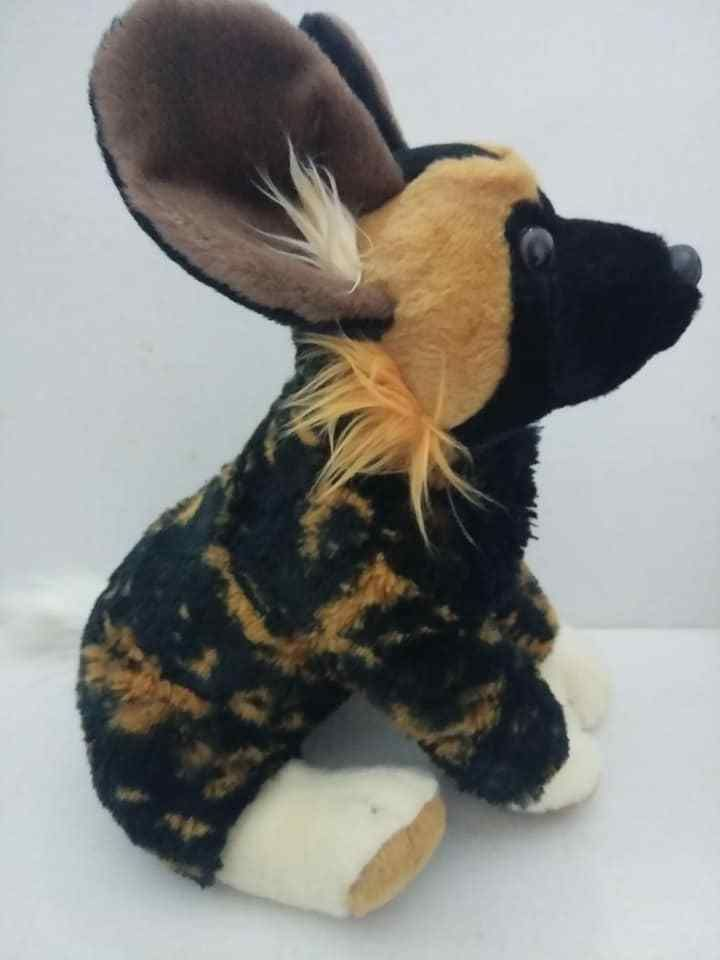 Details About 9 Cc African Wild Dog Plush Stuffed Animal Toy New