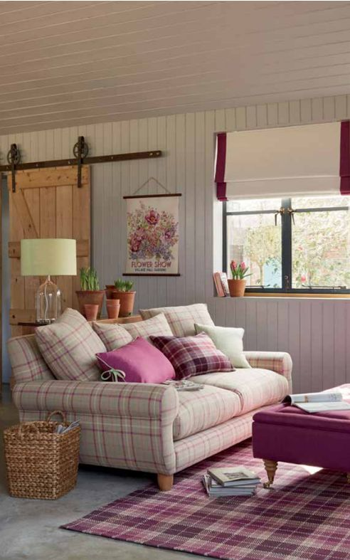 We love @LauraAshleyUK's Sweet Briar range. Stylish checks and berry hues are perfect for autumn