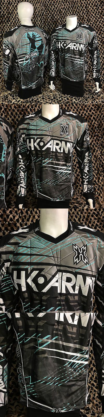 Jerseys and Shirts 165939: New Hk Army Hardline Padded Tournament Paintball Jersey - Atomic BUY IT NOW ONLY: $89.95