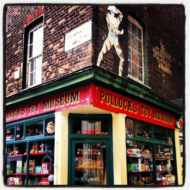 Toy Museum, Fitzrovia London