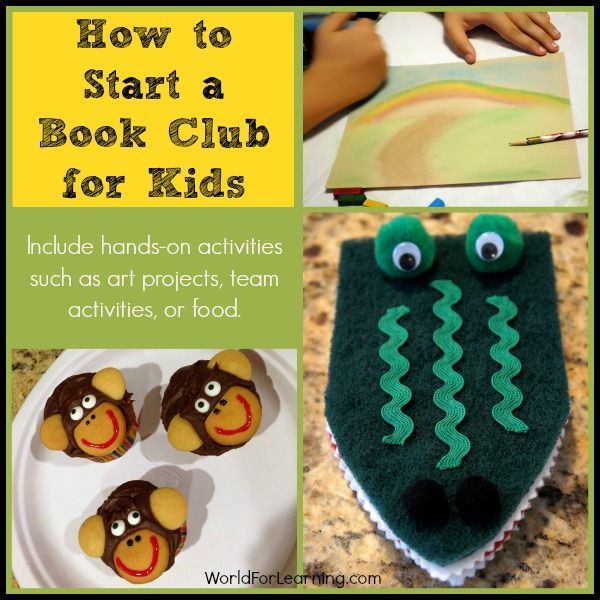 How to Start a Book Club for Kids - this is such a cute idea and has a checklist of everything you need to successfully start a kid-friendly book club!